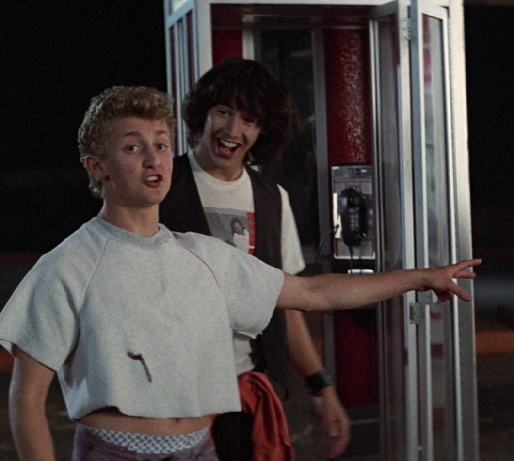 z4cfagr0zm8z e1616513568103 25 Totally Non-Heinous Facts About Bill & Ted's Excellent Adventure!