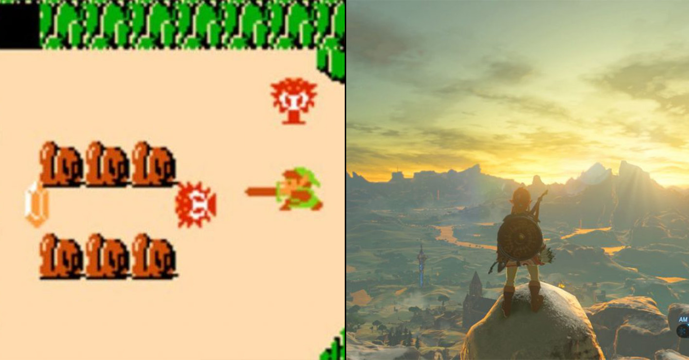zelds then now Amazing 1980s Video Game Franchises That Are Still Going Strong Today