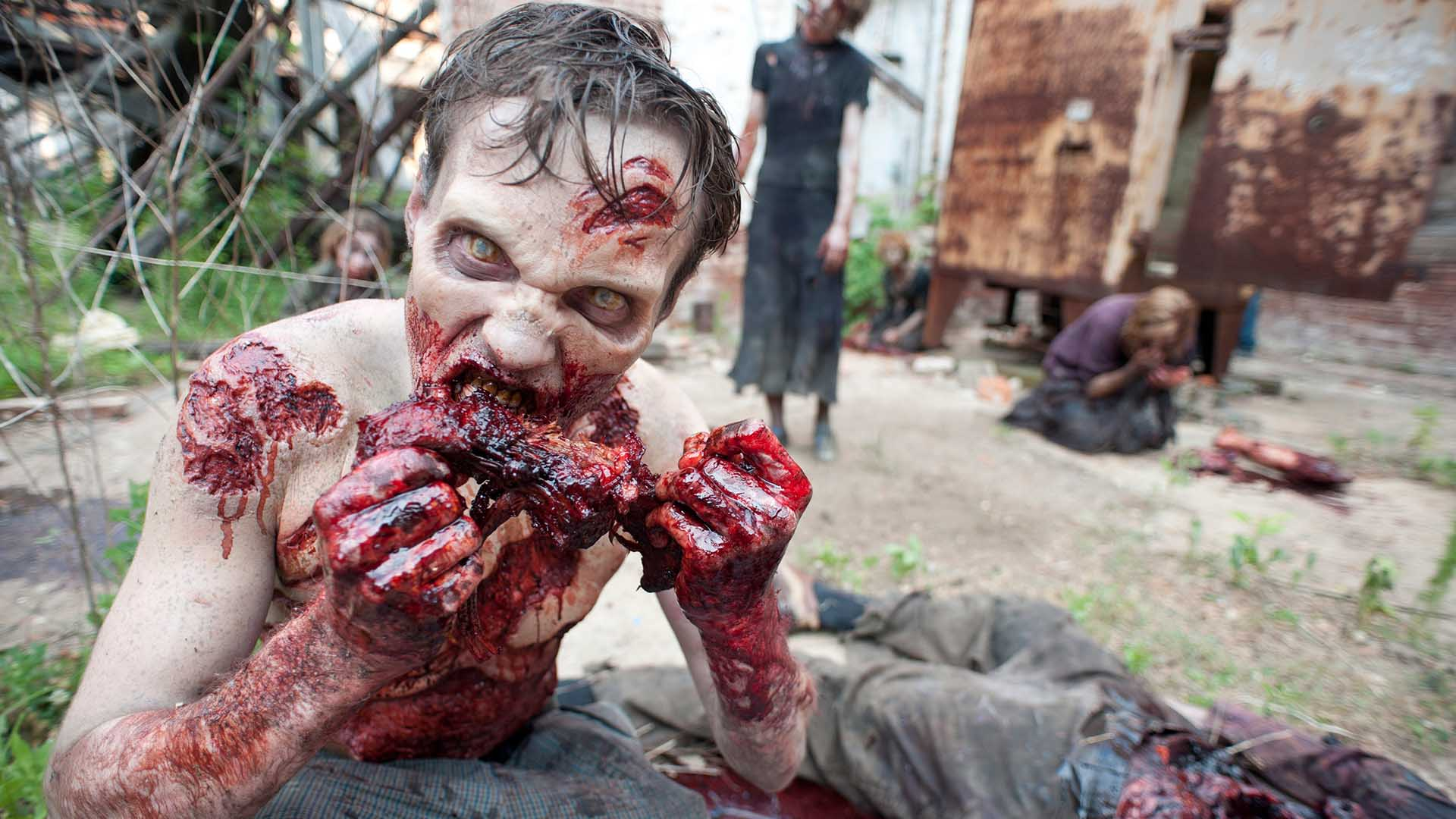 zombie guts 10 Things You Didn't Know About The Walking Dead