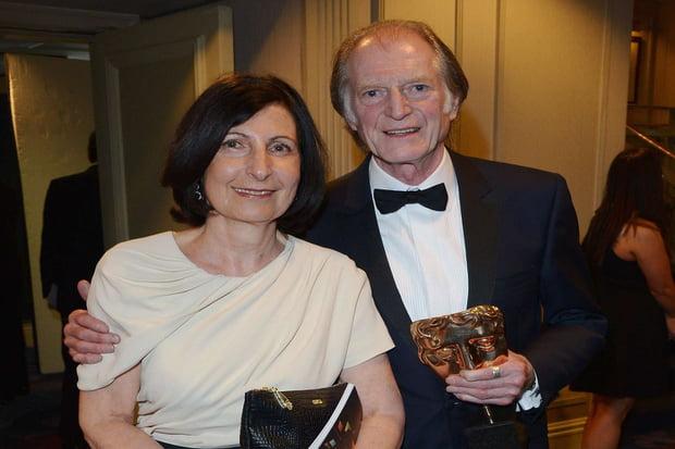 David Bradley and his wife Rosanna Bradley BAFTA awards