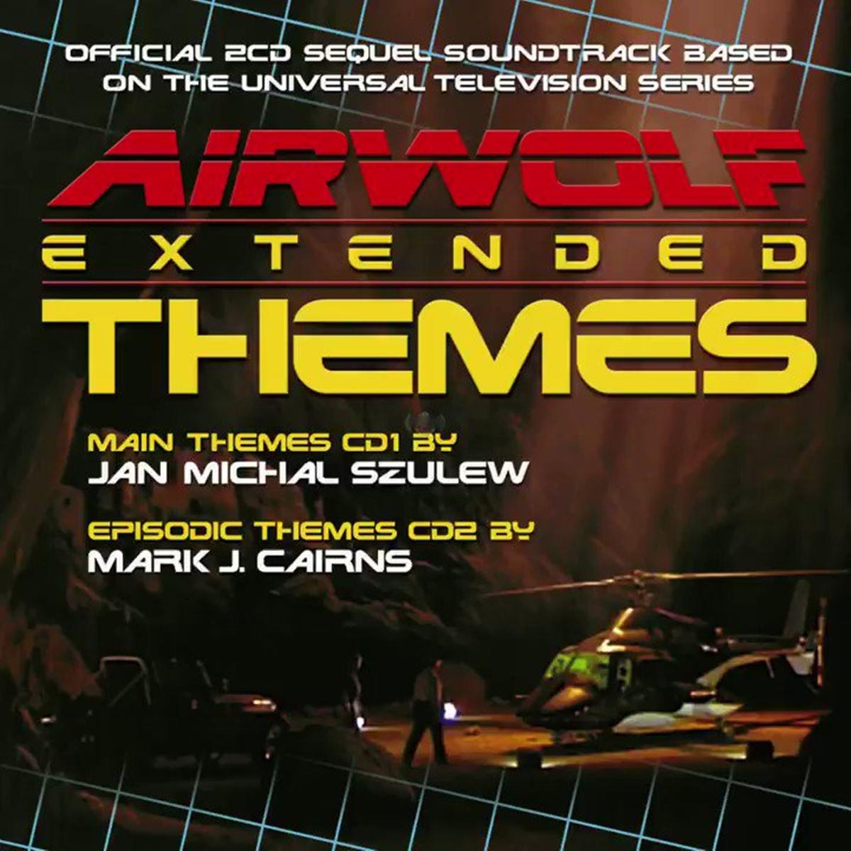 Airwolf themes CD