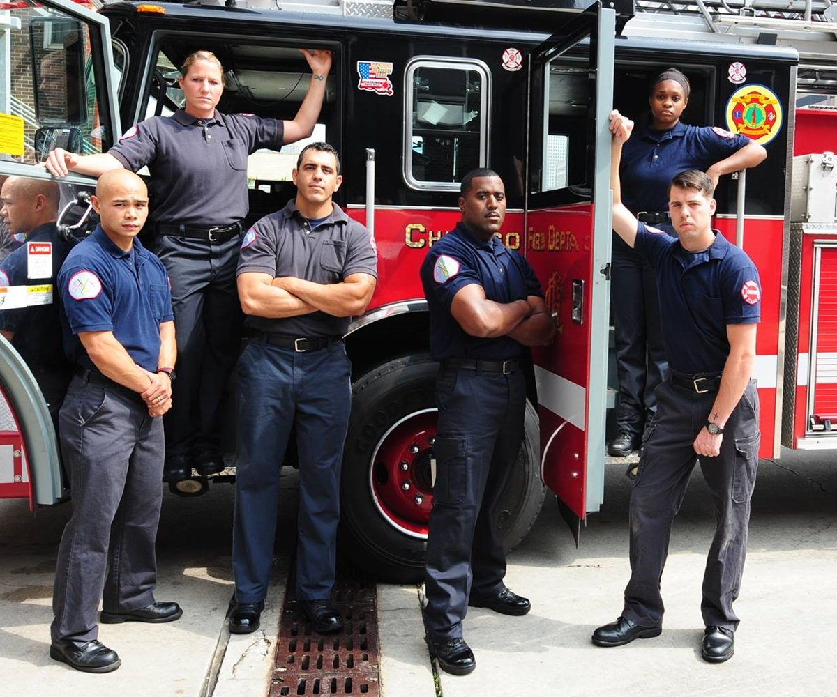real life chicago fire fighters