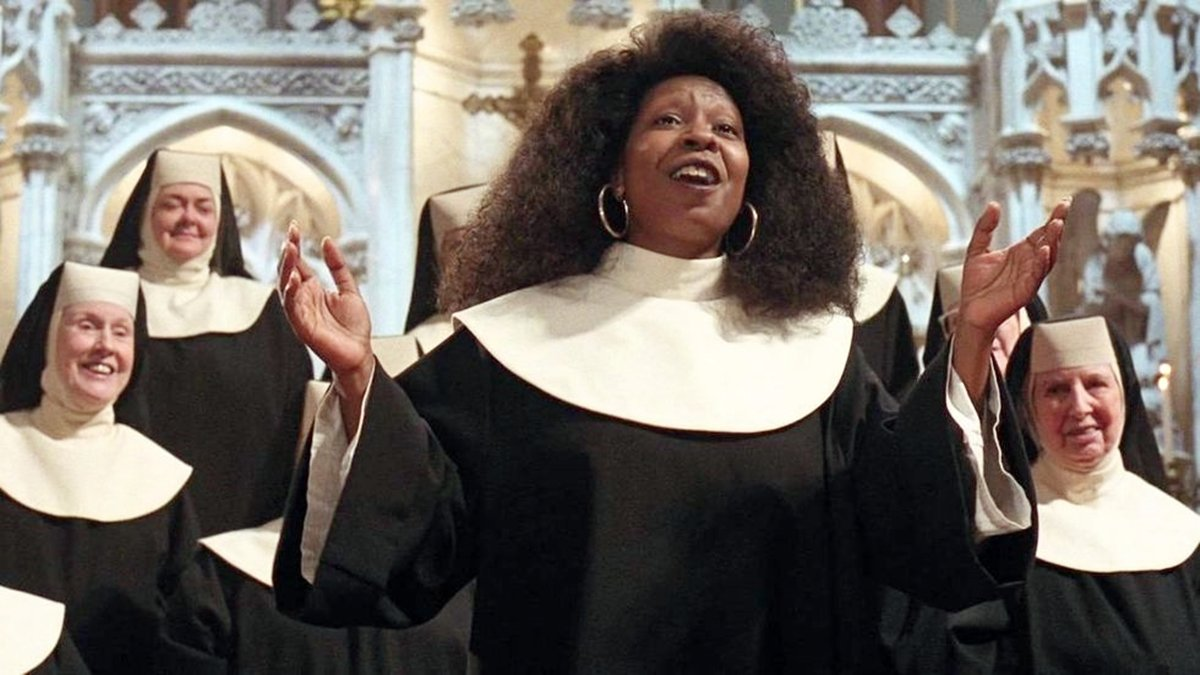 Mother Superior takes in Deloris in this musical movie about convent life by film director Emile Ardolino. It cast Whoopi Goldberg as a singing nun in a choir. Its iconic music inspired a Broadway show, and there's news of a second sequel in the works.