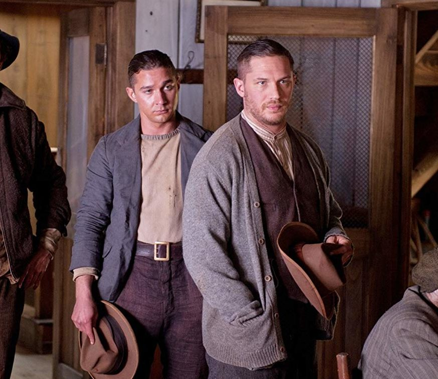 568 Shia LaBeouf reveals he wrestled with Tom Hardy on the set of Lawless e1611654605629 40 Things You Didn't Know About Tom Hardy
