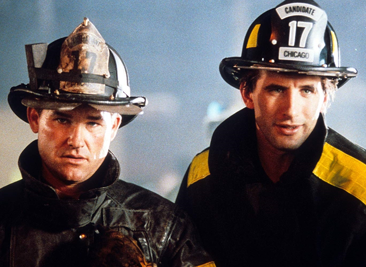 william baldwin and kurt russell in backdraft