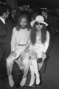 786px John Lennon en echtgenote Yoko Ono vertrekken van Schiphol naar Wenen in de vert Bestanddeelnr 922 2494 20 Celebrities With Dark Pasts You Didn't Know About