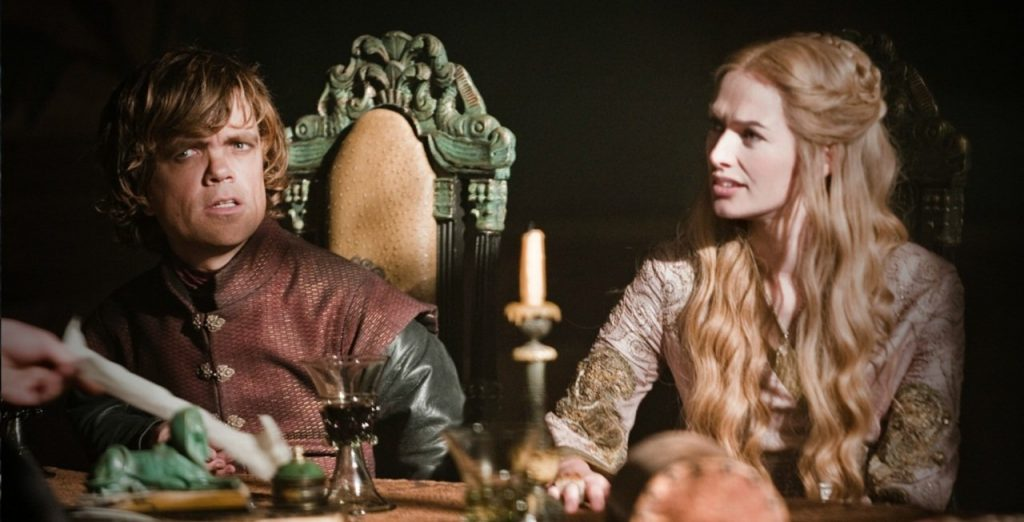 Cersei and Tyrion cersei lannister 30463348 1280 652 33 Things You Didn't Know About The Game of Thrones Cast