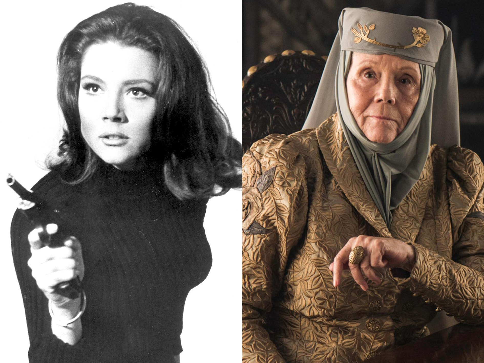Diana Rigg Avengers Game of Thrones 33 Things You Didn't Know About The Game of Thrones Cast