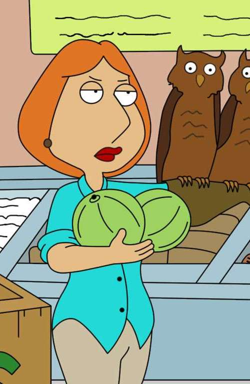 Family Guy Lois Griffin 23 Cartoon Characters Then Vs Now