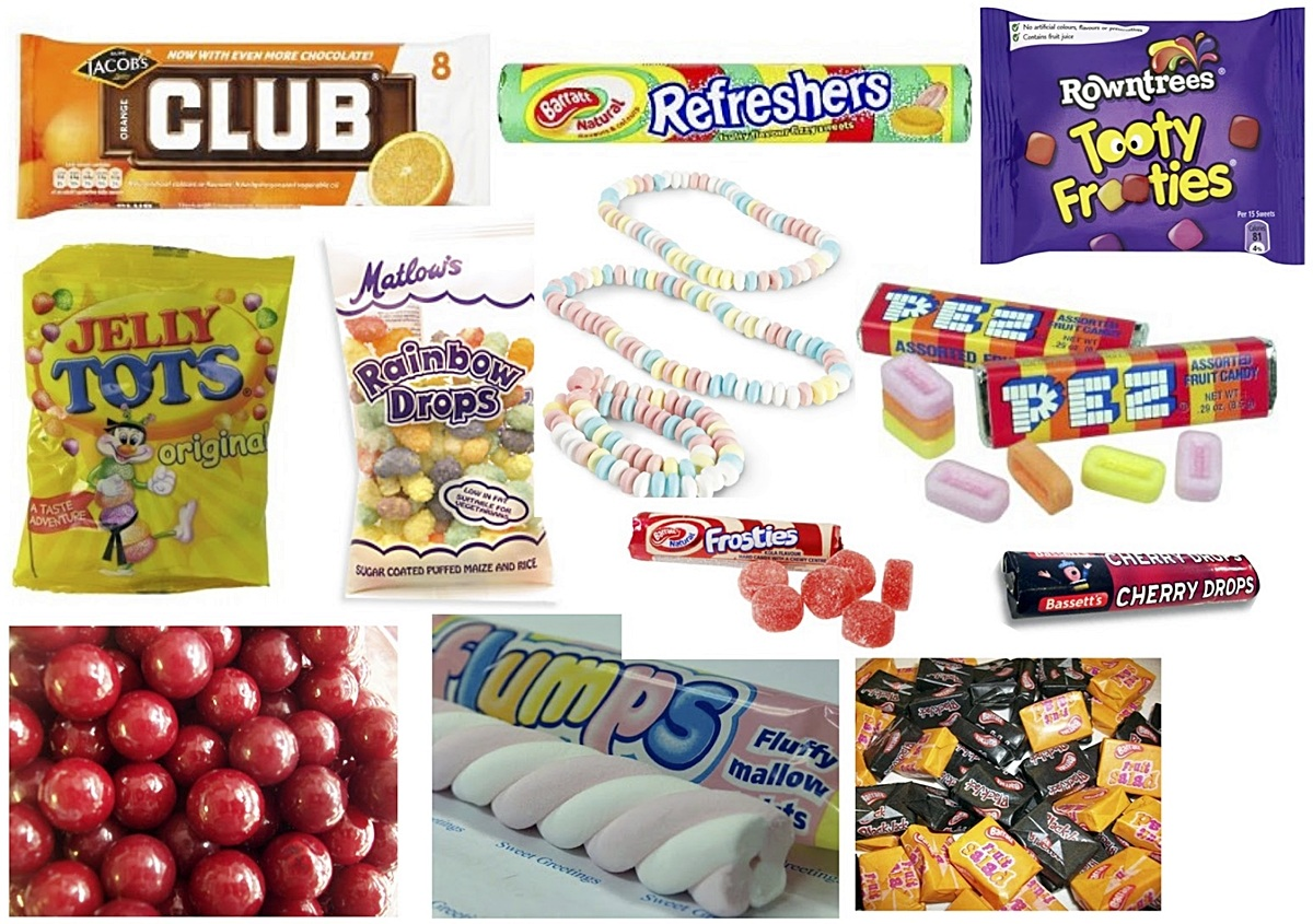 INTRO12 If You Remember At Least 10 Of These 14 Sweets Then You're A TRUE 80s Child!