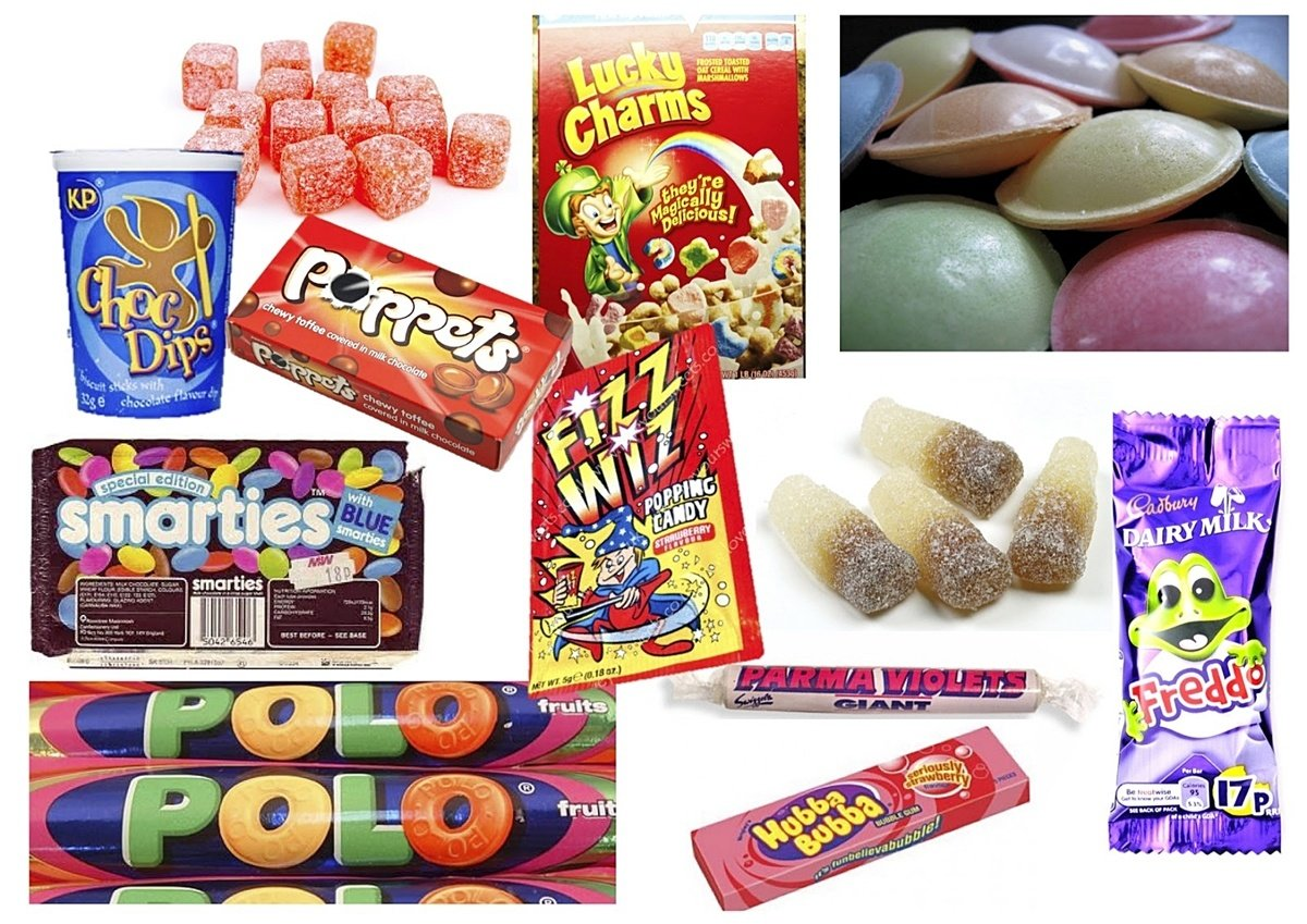 INTRO23 If You Remember At Least 10 Of These 14 Sweets Then You're A TRUE 80s Child!
