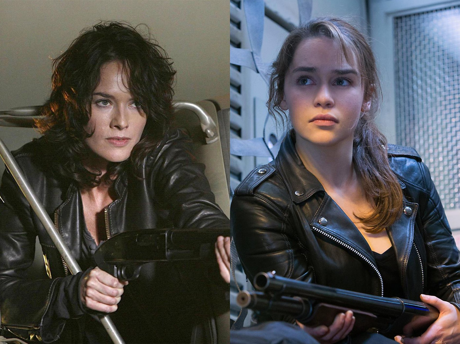 Lena Headey Emilia Clarke Sarah Connor 33 Things You Didn't Know About The Game of Thrones Cast
