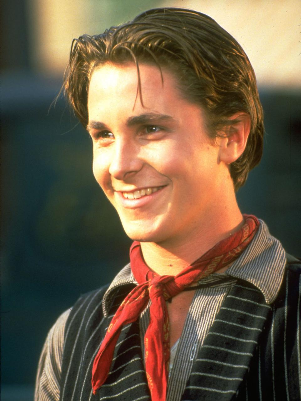 Newsies christian bale 15 Unexpected Celeb Photos From History