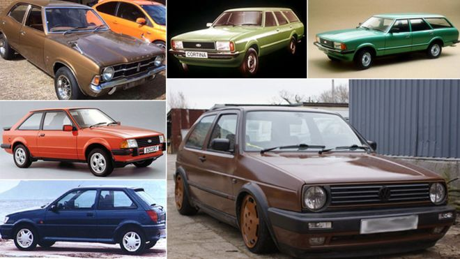 Some classic cars from the 1980s