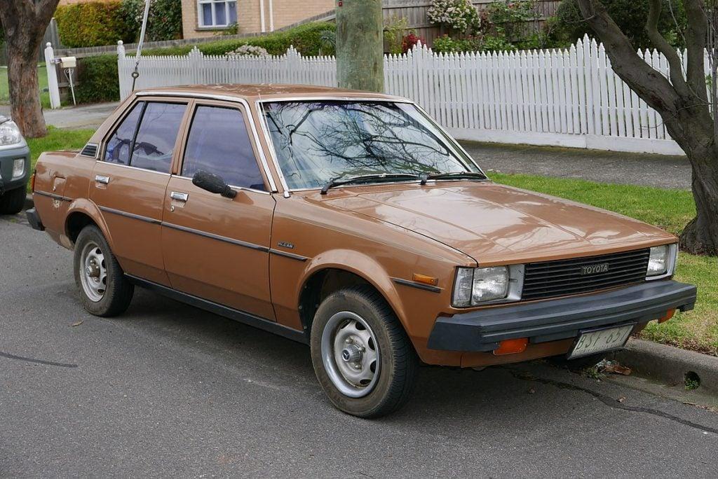 Brown Toyota Corolla