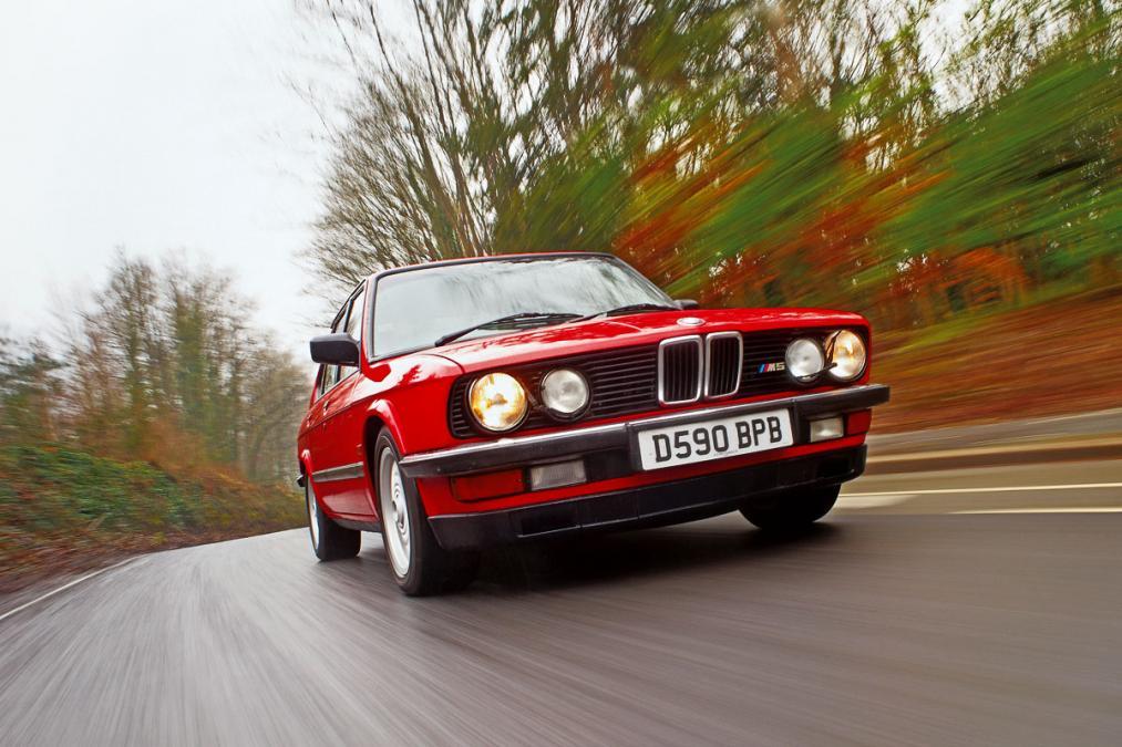 Red BMW M5