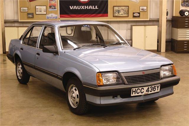 Blue Vauxhall Cavalier