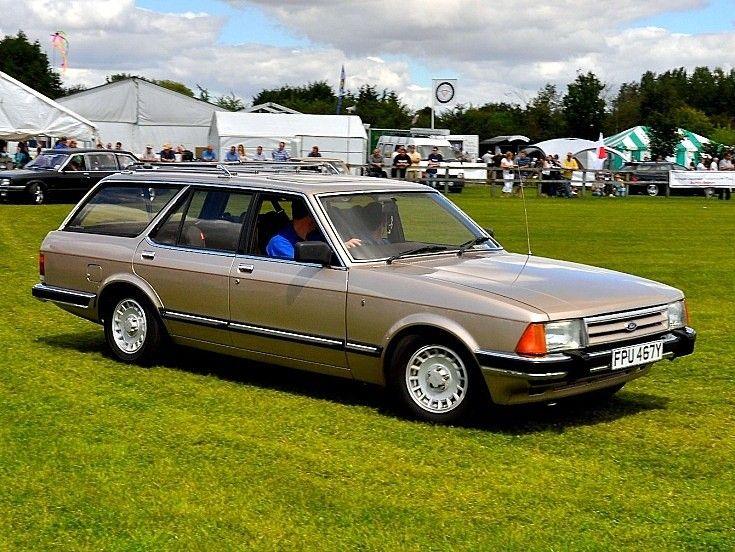Brown Ford Granada