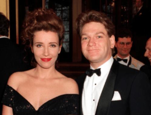 Emma Thompson with ex-husband Kenneth Branagh