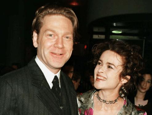 Kenneth Branagh with ex-partner Helena Bonham Carter