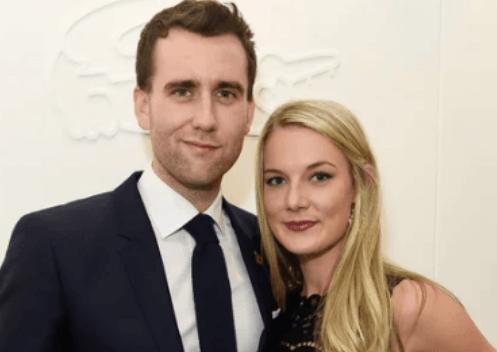 Matthew Lewis with wife Angela Jones
