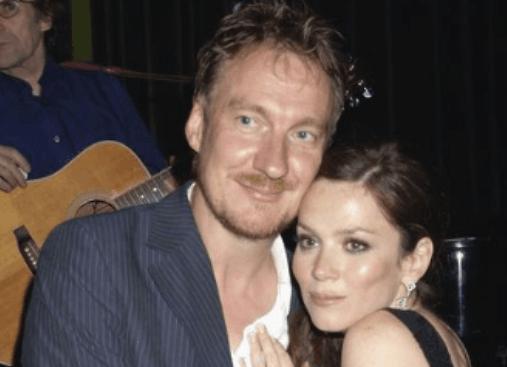 David Thewlis with ex-partner Anna Friel