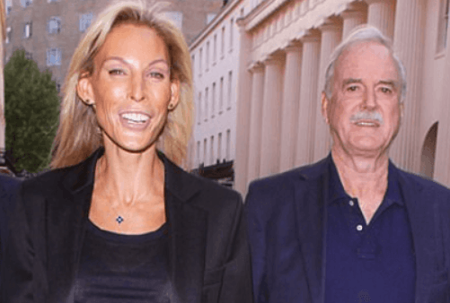 John Cleese with fourth wife Jennifer Wade