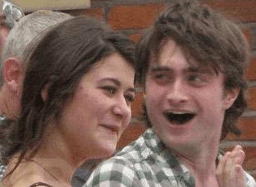 Daniel Radcliffe with ex-girlfriend Olive Uniacke