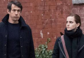 Emma Watson with ex-boyfriend Mack Knight
