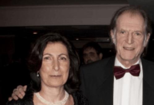 David Bradley with wife Rosanna Bradley