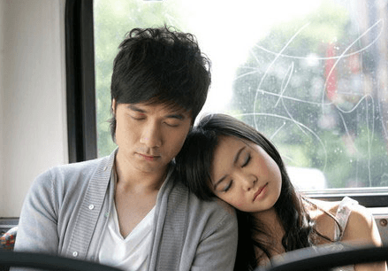 Katie Leung and Leo Ku