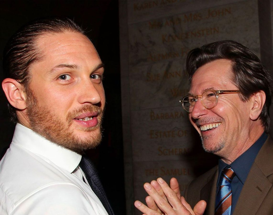 Tom Hardy and Gary Oldman e1611661696703 40 Things You Didn't Know About Tom Hardy
