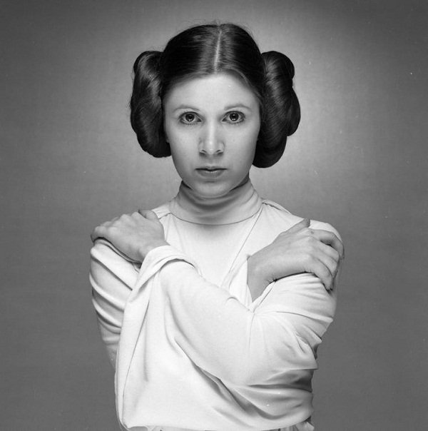carrie fisher 45+ Last Known Photos of Celebrities Before They Died