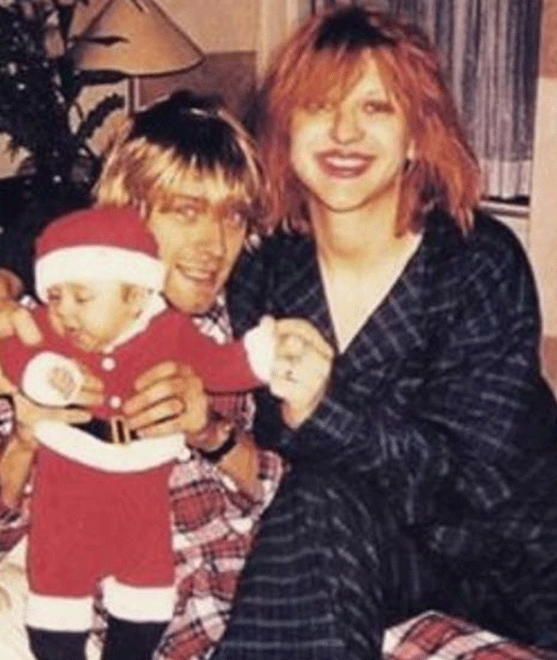 courtney inset 15 Unexpected Celeb Photos From History