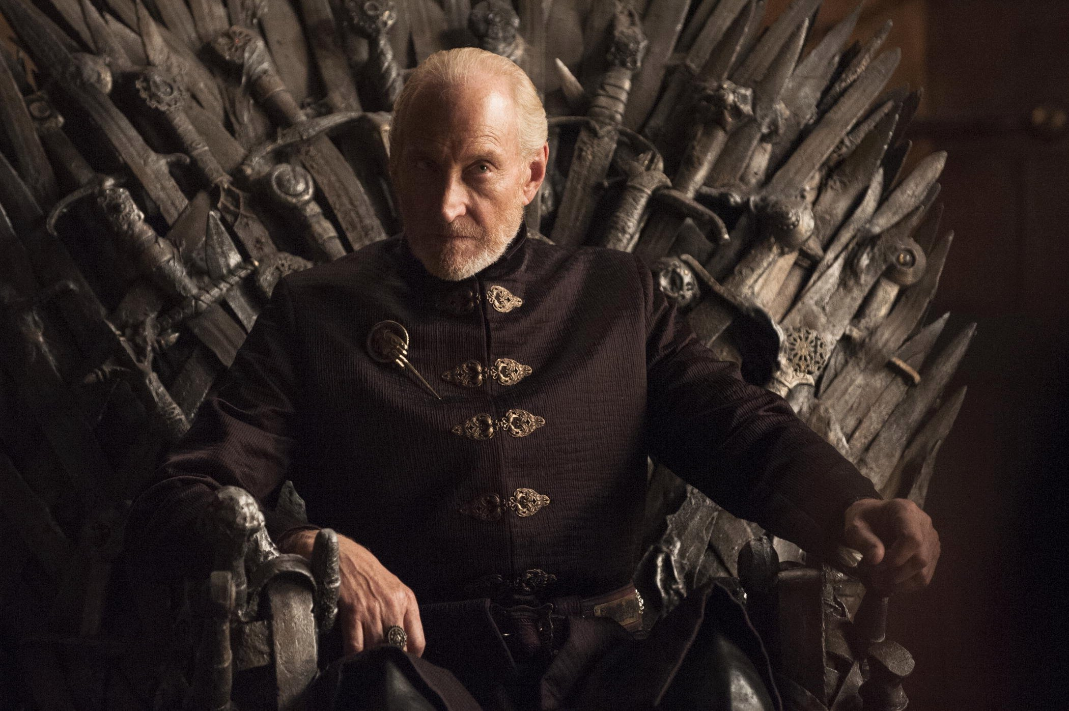 got 4 10 tywin throne 33 Things You Didn't Know About The Game of Thrones Cast