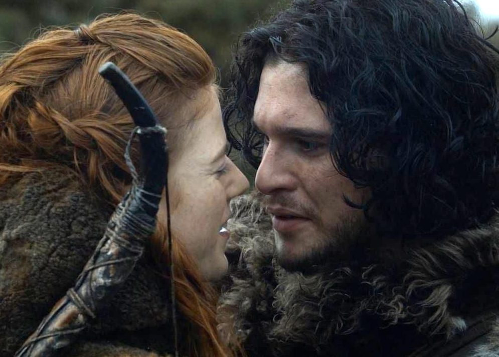 jon and ygritte e1626867571226 33 Things You Didn't Know About The Game of Thrones Cast
