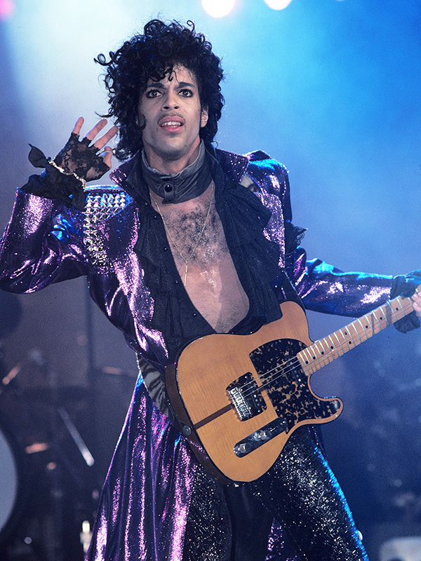 prince purple 45+ Last Known Photos of Celebrities Before They Died