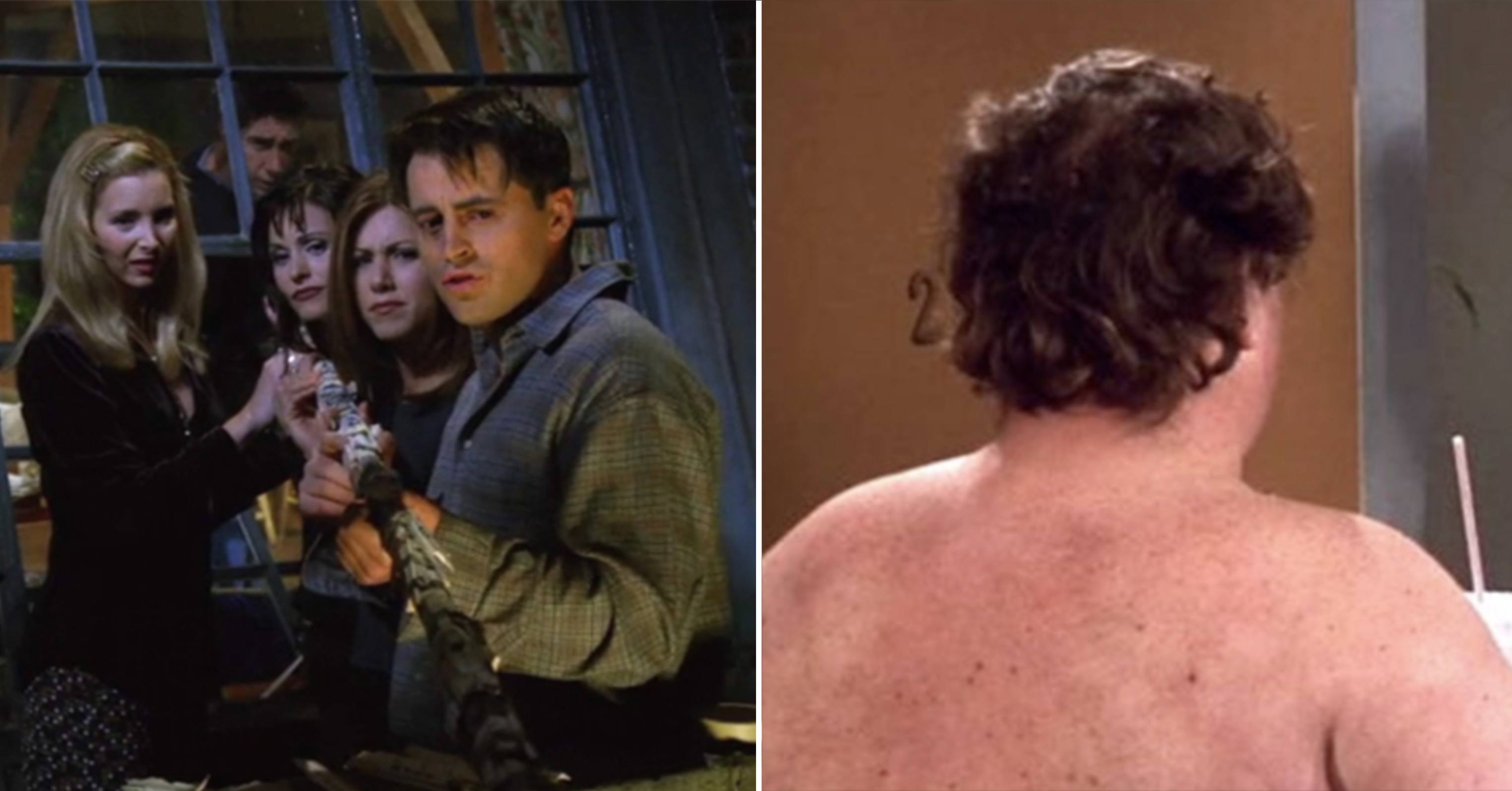 Watch The Ugly Naked Guy from Friends has finally been revealed video