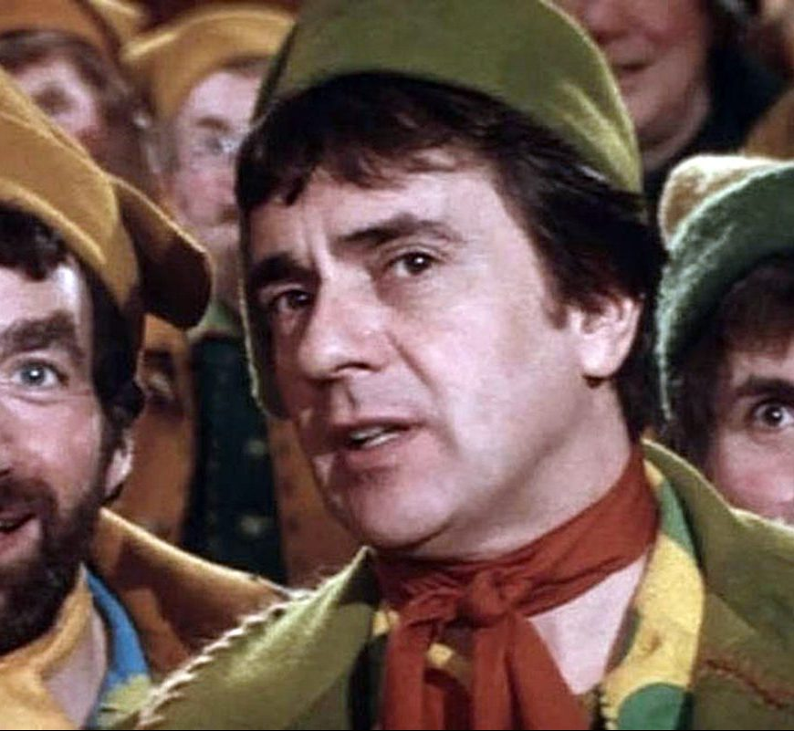 Dudley Moore as Patch in Santa Claus: The Movie 1985