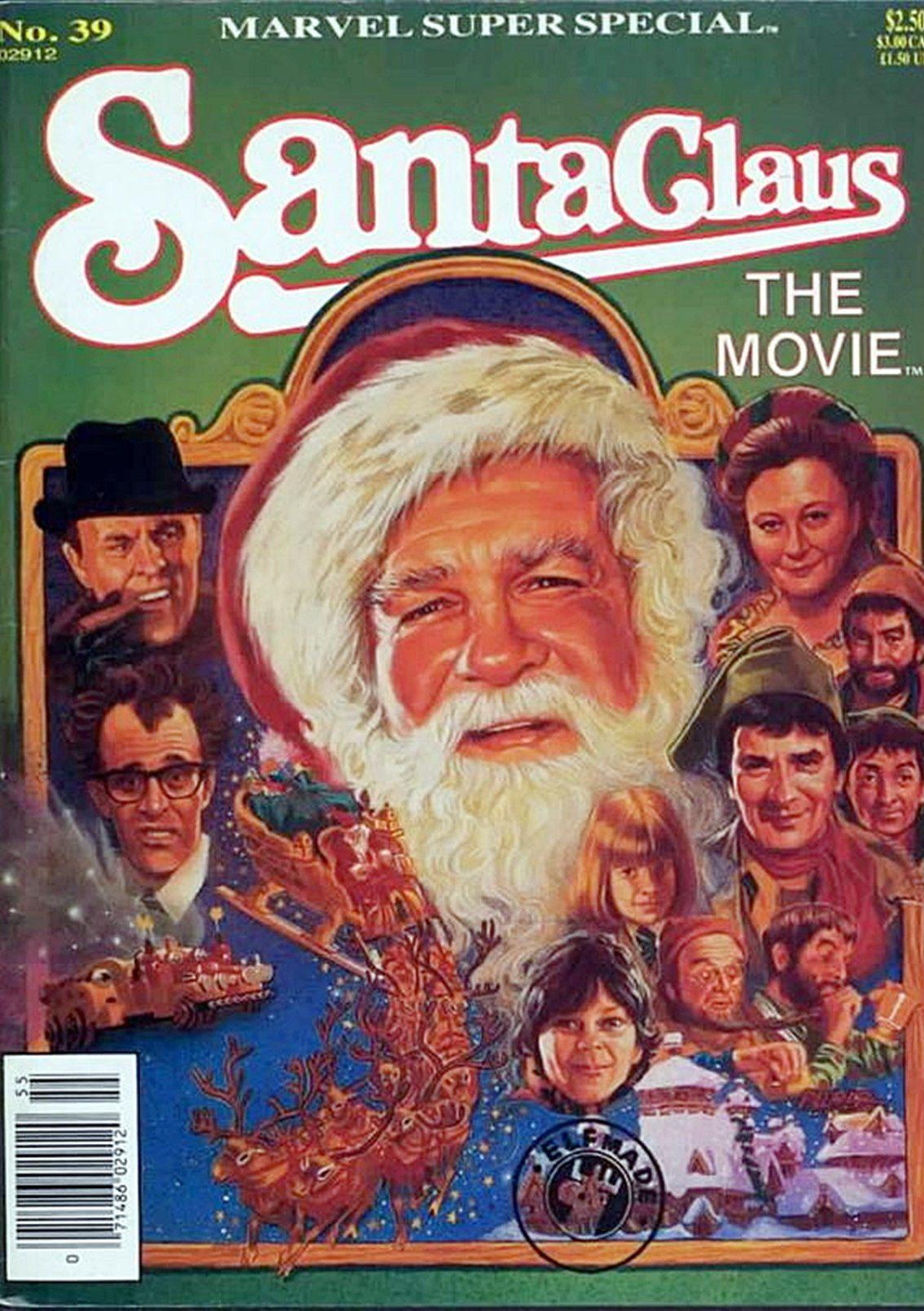 Santa Claus: The Movie Marvel comic