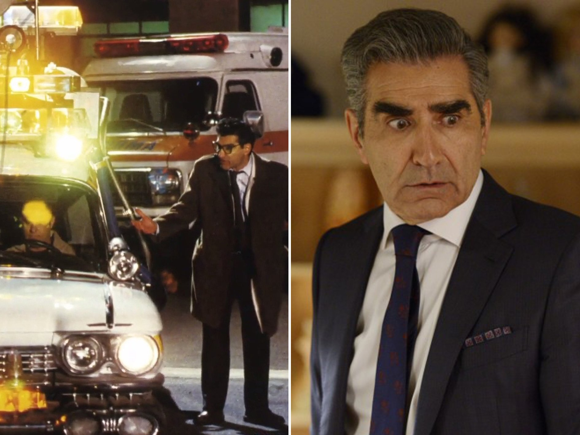 Eugene Levy Ghostbusters 2 Spooky Facts You Probably Never Knew About Ghostbusters II