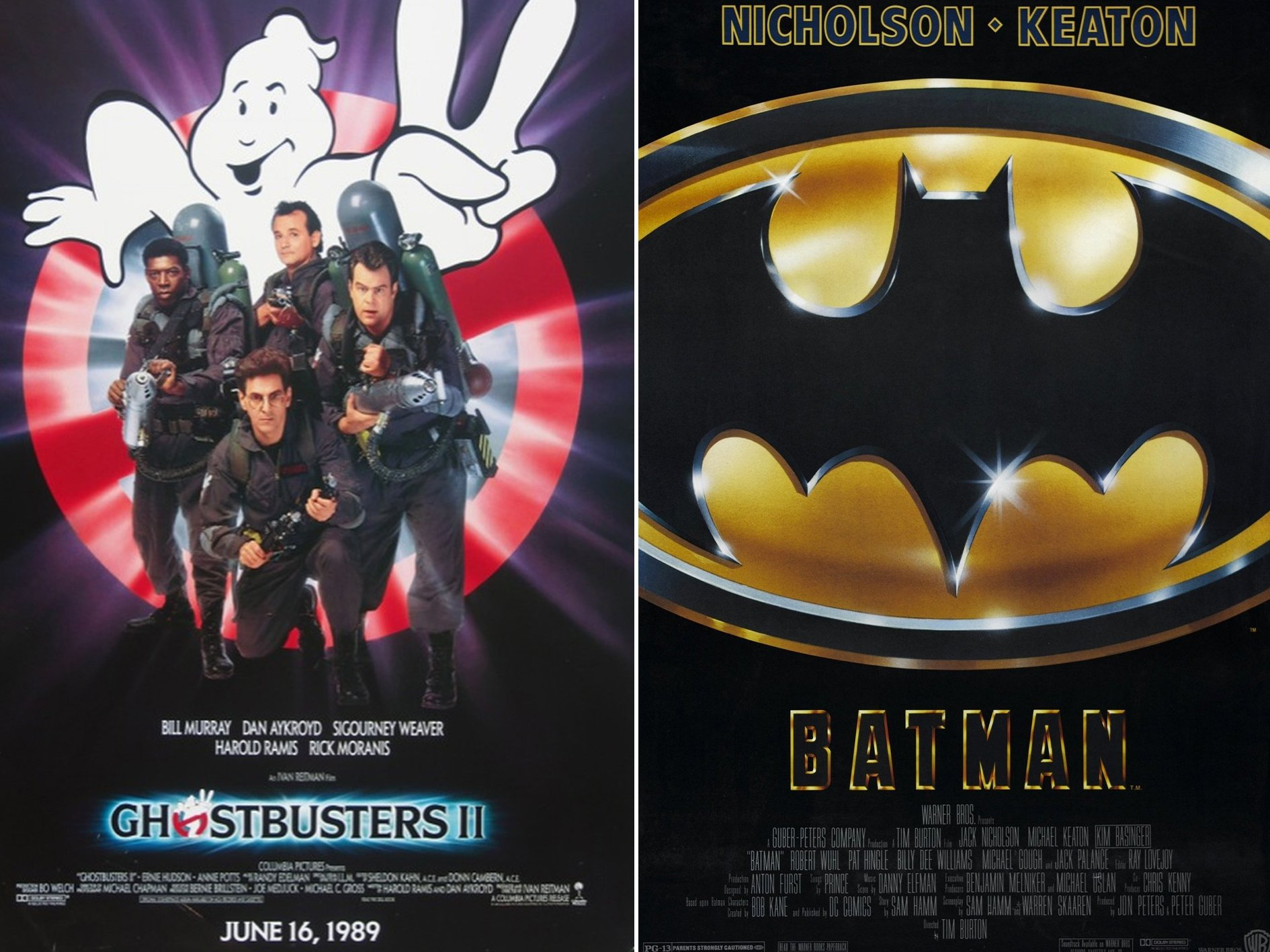 Ghostbusters 2 Batman Spooky Facts You Probably Never Knew About Ghostbusters II