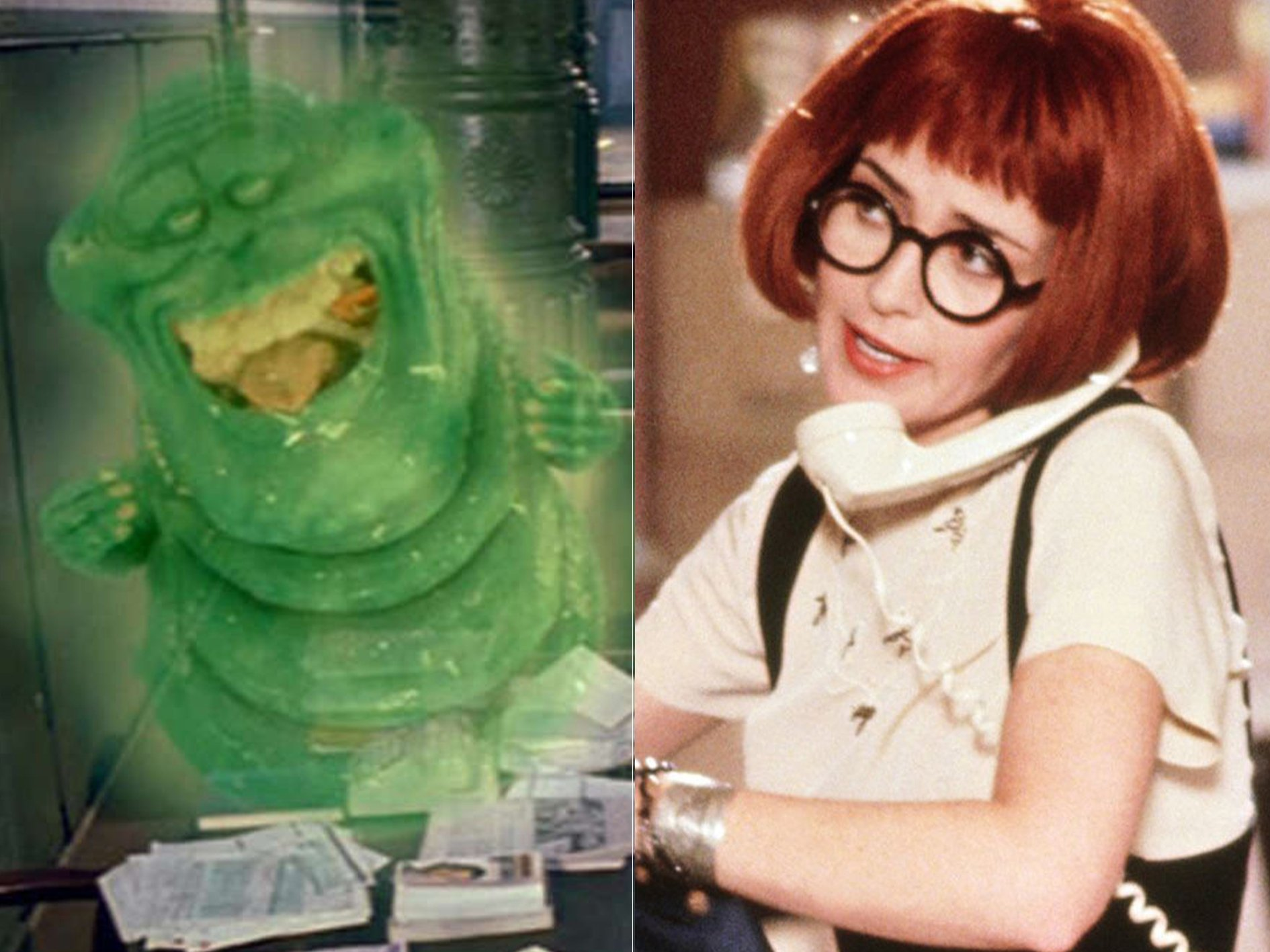 Ghostbusters 2 Slimer Janine Spooky Facts You Probably Never Knew About Ghostbusters II