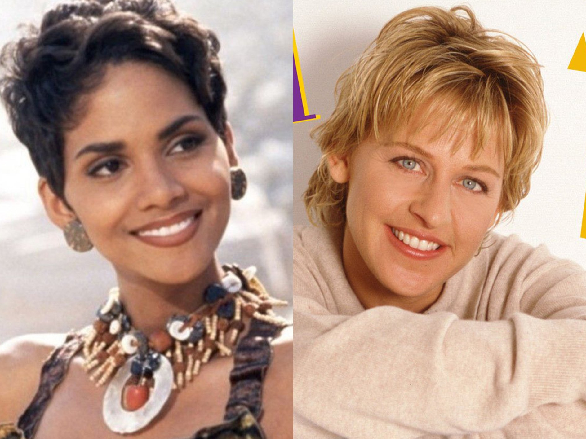 Halle Berry Ellen DeGeneres Speed 20 Fast Facts You Probably Never Knew About Speed