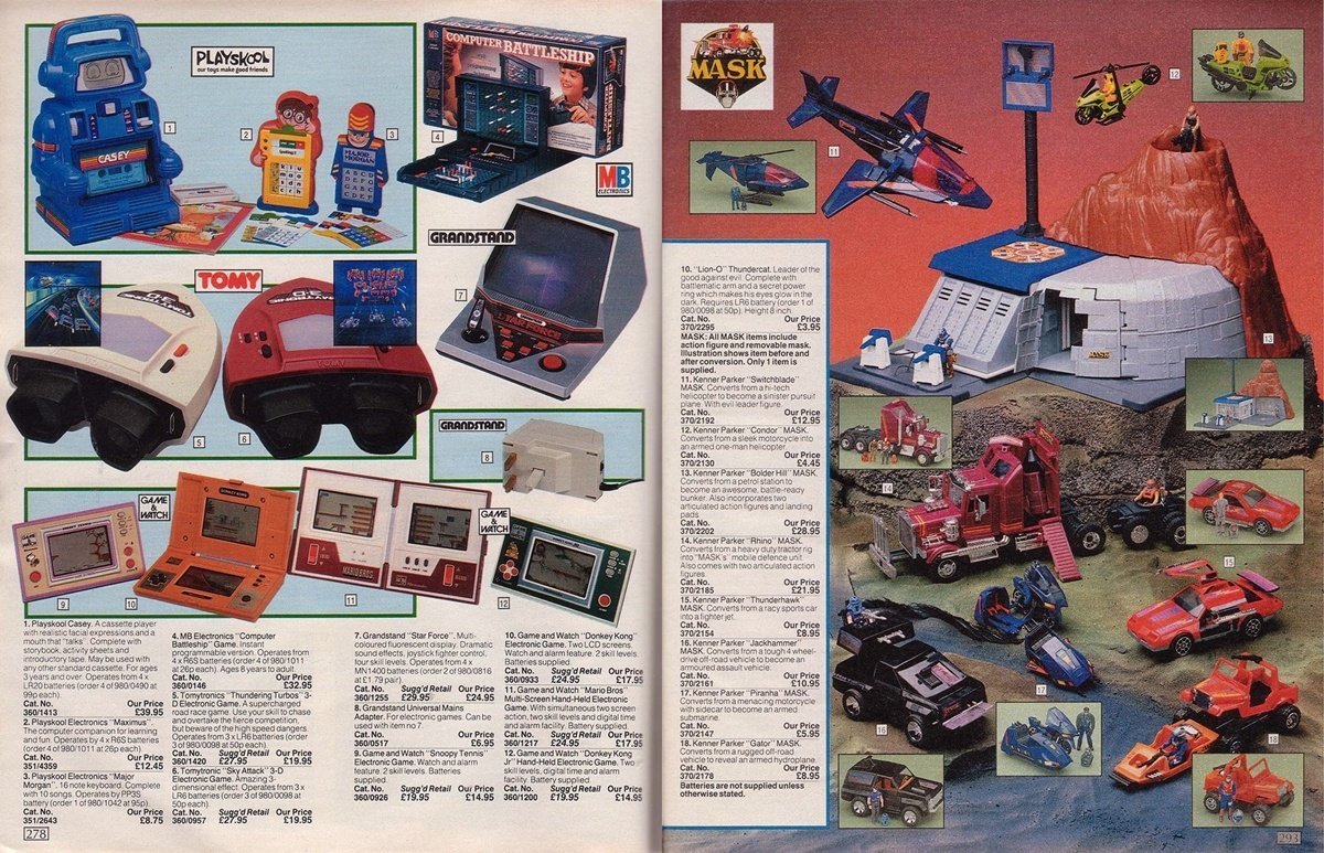 INTRO4 1 Argos Have Revealed Their Best Selling Christmas Toys Of The Last 45 Years!