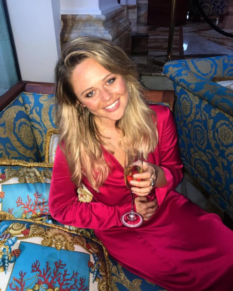 NINTCHDBPICT0004552825234 Emily Atack Looks Stunning After Jungle Makeover