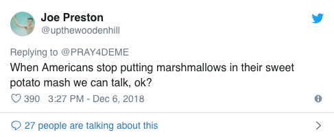 Screenshot 2018 12 13 at 14.23.42 An American Trolled British Food And This Was The Response He Got