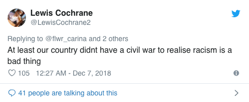 Screenshot 2018 12 13 at 14.27.31 An American Trolled British Food And This Was The Response He Got