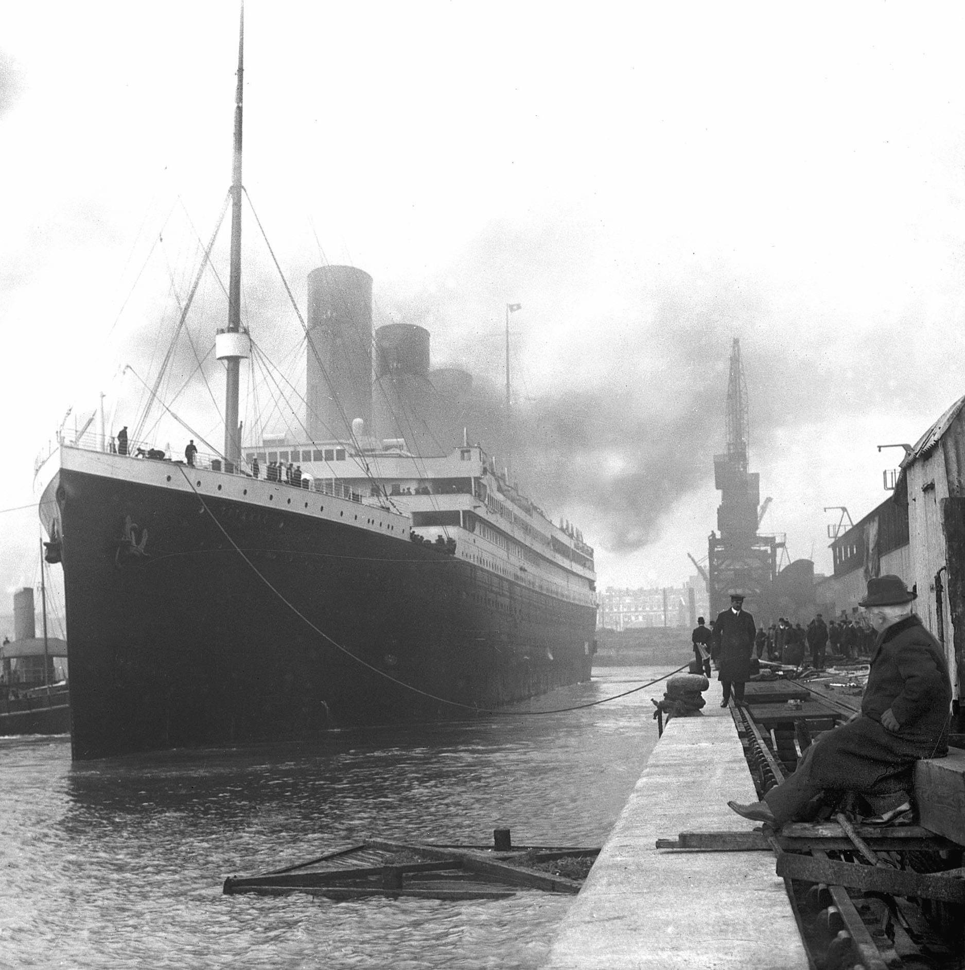 Titanic in Southampton 25 Things You Never Knew About The Titanic