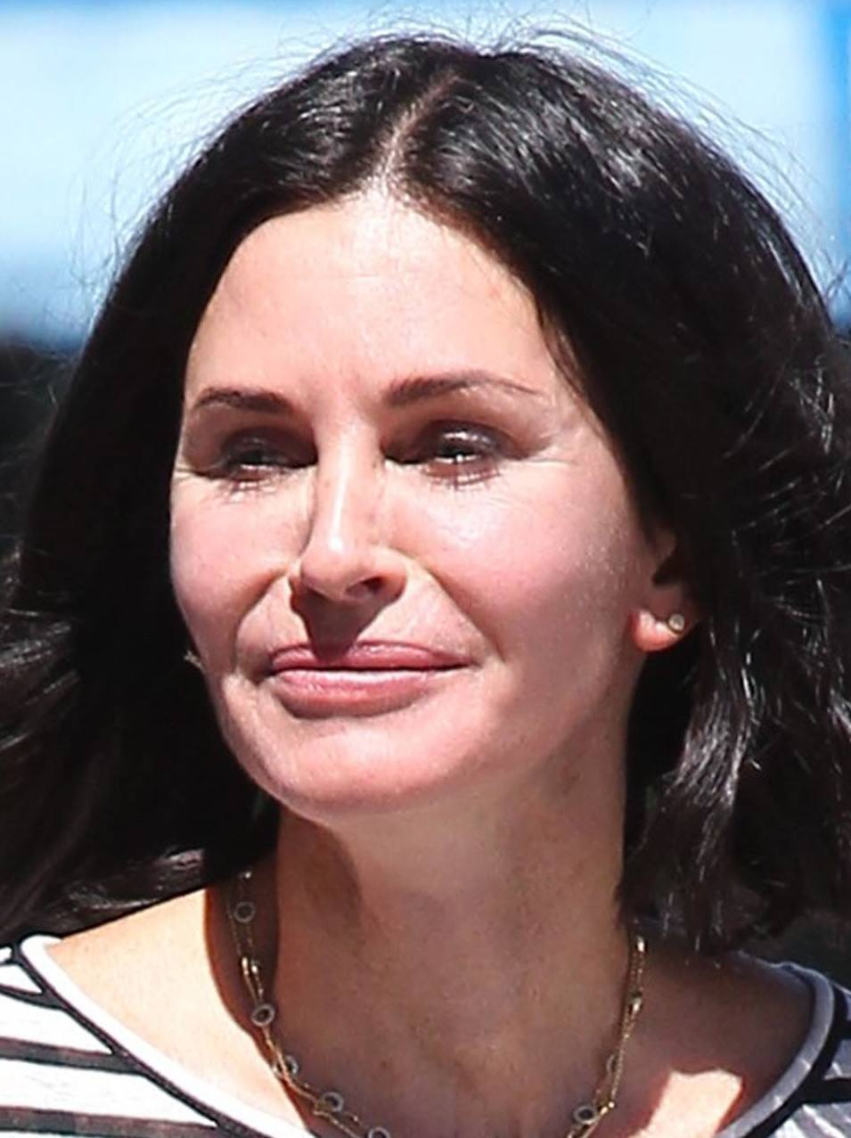 courteney cox plastic surgery 2015 1 Celebs Before And After Surgery